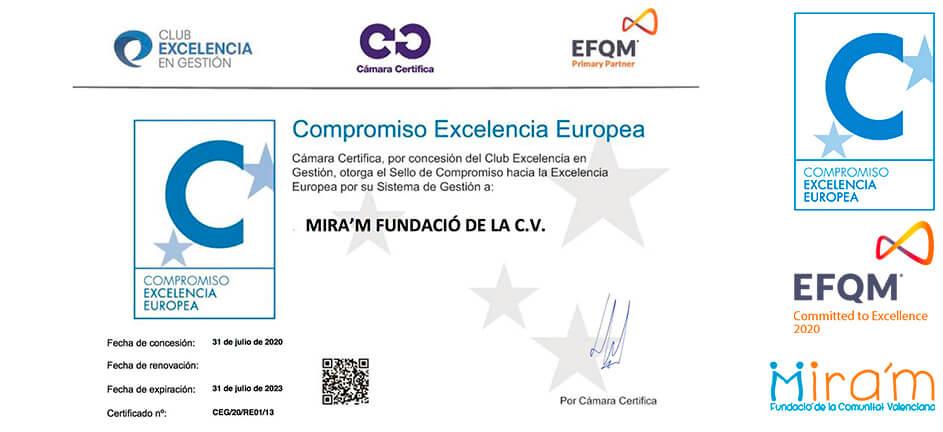 Miram_EFQM_Certificado_Excelencia